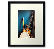 The Instruments of my life Framed Print
