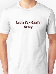 Louis Van Gaal's Army - Manchester United, Football T-Shirt