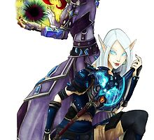 Word of warcraft blood elves  by Lysaena