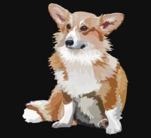 Corgi Vector by firefoxx