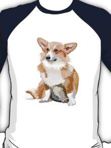 Corgi Vector T-Shirt