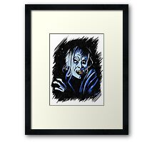 Scary Zone Framed Print
