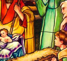 The Nativity Sticker