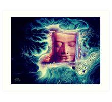 Buddha Wave Art Print