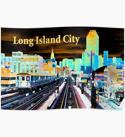 Long Island City Poster