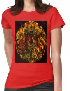 Reflections in the Eye of Pleasure Womens Fitted T-Shirt