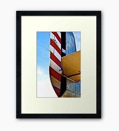 Tailspin  Framed Print