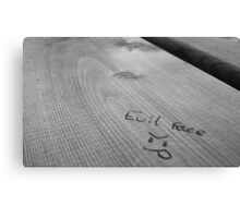 Evil Face Canvas Print