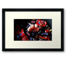 The Candy Giver Framed Print