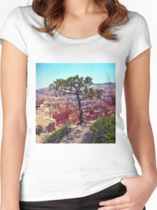 Canyon View Women's Fitted Scoop T-Shirt