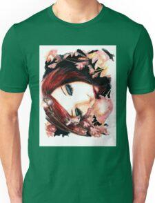 Sleeping flower Unisex T-Shirt
