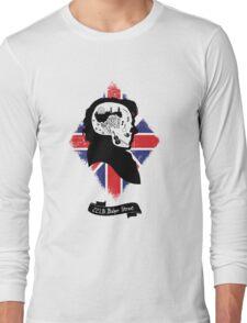 Sherlock's Mind (Teefury Version) Long Sleeve T-Shirt