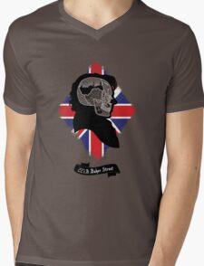 Sherlock's Mind (Teefury Version) Mens V-Neck T-Shirt