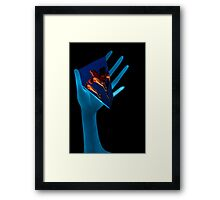 Embracing Beauty  Framed Print