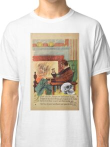 Trophy (Vintage Halloween Card) Classic T-Shirt