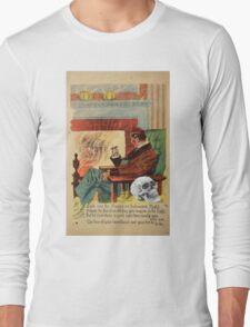 Trophy (Vintage Halloween Card) Long Sleeve T-Shirt