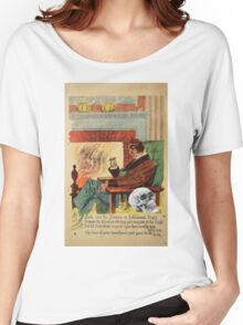 Trophy (Vintage Halloween Card) Women's Relaxed Fit T-Shirt