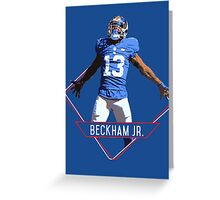 Odell Beckham Jr - New York Giants Greeting Card