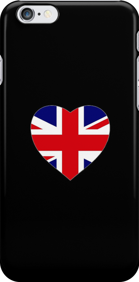 Union Jack Heart by Kaikau
