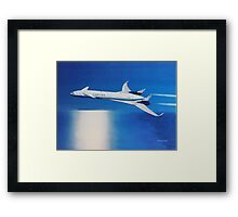 Boeing Sonic Cruiser Concept Aircraft Framed Print
