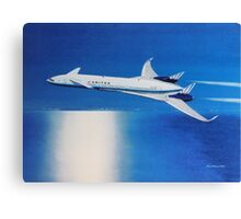 Boeing Sonic Cruiser Concept Aircraft Canvas Print