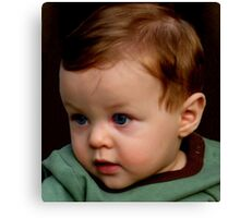 mommy said I was a gift... and the choice not to give birth to me was never an option... thank you mommy Canvas Print