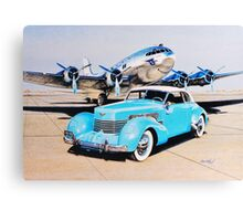 Two Classics  Boeing 307 & Cord 810  Canvas Print