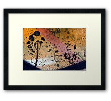 the bird and the tree Framed Print