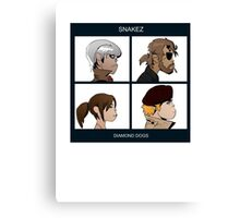 Gorillaz Metal Gear Solid Album Parody Canvas Print