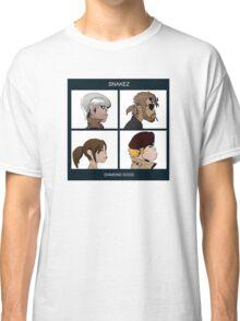 Gorillaz Metal Gear Solid Album Parody Classic T-Shirt