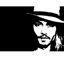 Johnny Depp - Tee Photographic Print