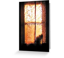 In the Glow of Day Greeting Card