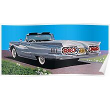 1960 Ford Thunderbird Convertible  Poster