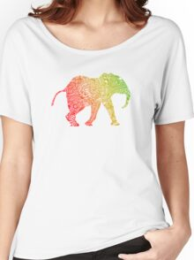Baby Zentangle Elephant Women's Relaxed Fit T-Shirt