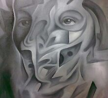 GREY PERSONALITY   by Ehivar Flores Herrera