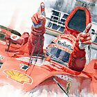 Scuderia Ferrari Marlboro F 2001 Ferrari 050 M Schumacher winner 2002 F1 season by Yuriy Shevchuk