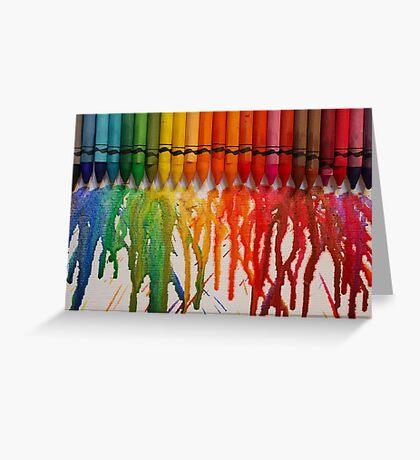 Chasing Rainbows Greeting Card