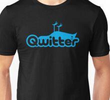 Qwitter Blue Unisex T-Shirt