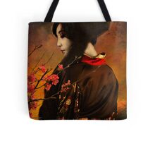 Geisha Series - With Quince Tote Bag