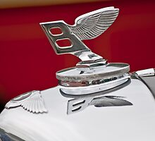 1950 Bentley MK VI Sports Saloon Hood Ornament 2 by Jill Reger