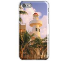 The Lighthouse in Playa Del Carmen, Mexico iPhone Case/Skin
