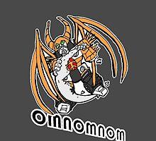 Chibi Unicron Omnomnom 2 by autobotchari