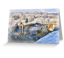 Ironbridge 1125 Merry Christmas Greeting Card