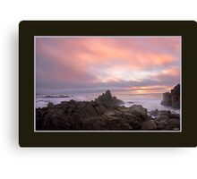 Jonathan Livingston - Carmel Sunset Canvas Print