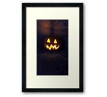 Jack O the Lantern! Framed Print