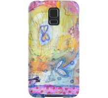 Creation with Wings  Samsung Galaxy Case/Skin