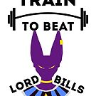 Train To Beat Lord Bills by dragonballsuper