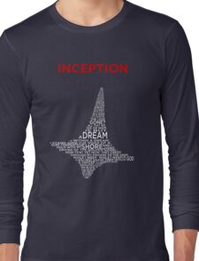 INCEPTION - A POEM WITHIN A TOTEM WITHIN A SHIRT Long Sleeve T-Shirt