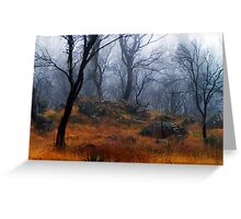 One misty day Greeting Card