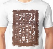 Scribe Amenemhat's Magical Text Unisex T-Shirt
